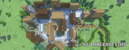 Скачать Carentan, France (Call of Duty 2 MP Map) для Minecraft