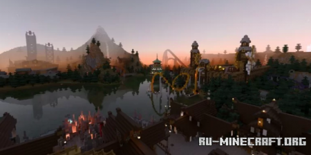 Скачать Bidmor Park & Resort для Minecraft