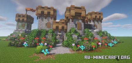 Скачать ArtistW03's Small Castle One для Minecraft