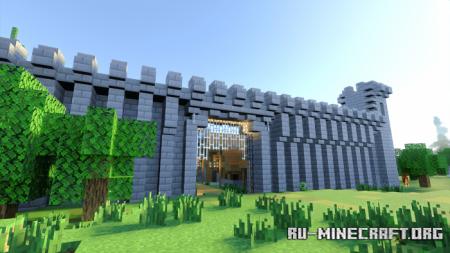 Скачать Abandoned Isle Custom Terrain для Minecraft PE