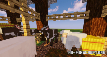 Скачать Shiny's Entity Models Plus для Minecraft 1.17