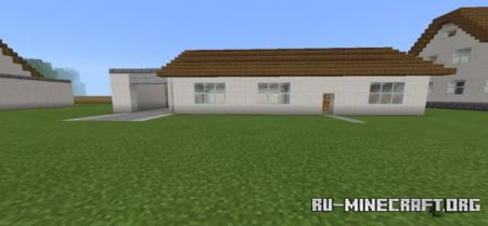 Скачать Suburban house bundle by darkmazeblox для Minecraft