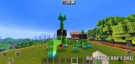 Скачать The Safest Modern House And Farm House для Minecraft PE