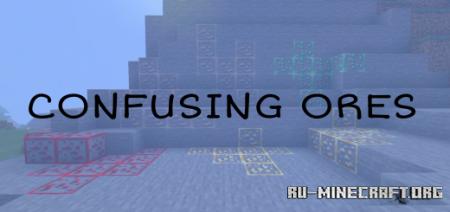 Скачать Confusing Ores для Minecraft PE 1.17