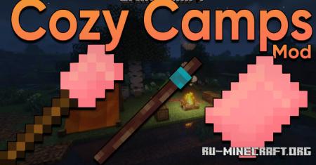Скачать Cozy Camps для Minecraft 1.17.1