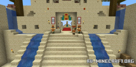Скачать Zelda - Breath of the Wild Gerudo Town для Minecraft
