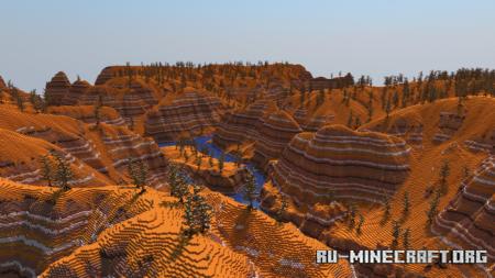 Скачать Golden Canyon для Minecraft PE