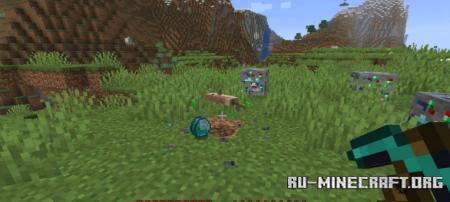 Скачать Lucky Ores для Minecraft 1.17.1