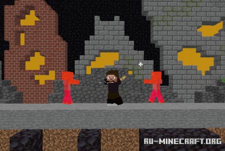 Скачать ZOMBERZ Minigame для Minecraft PE
