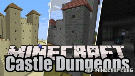 Скачать Castle Dungeons для Minecraft 1.17.1