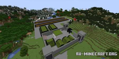 Скачать Military Base by HATARNEGOL для Minecraft