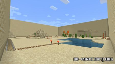 Скачать INSTA DEATH Rollercoaster (Almost An Hour Long) для Minecraft PE