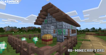 Скачать Glazinpack для Minecraft PE 1.17
