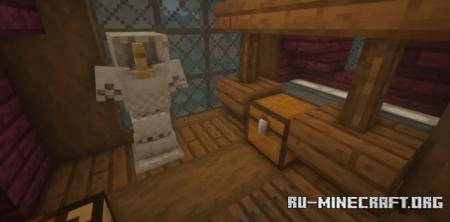 Скачать Small Fantasy House by davelive1 для Minecraft