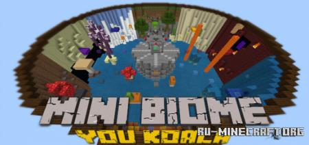 Скачать Mini Biome Parkour by You Koala для Minecraft PE