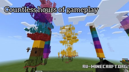 Скачать Subsys Towers of Epicness для Minecraft PE