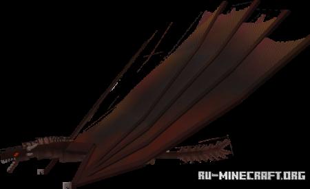Скачать MEGAVerse Series - Fire Dragon для Minecraft PE 1.17