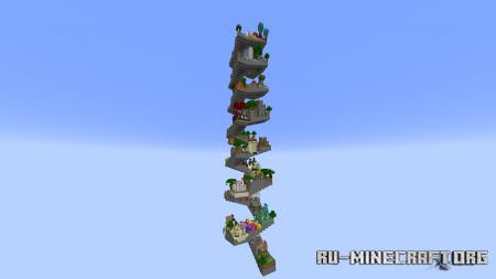 Скачать Parkour Helix для Minecraft