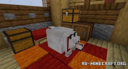Скачать Fat Animals - Жирные домашние животные для Minecraft 1.17