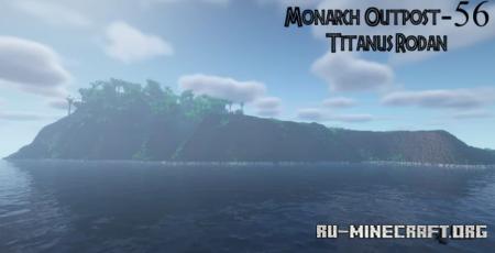 Скачать Monarch Outpost (Isla De Mara) для Minecraft