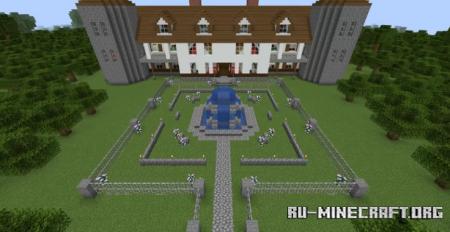 Скачать Castlevania Villa для Minecraft