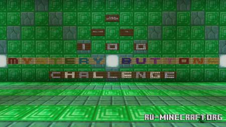 Скачать 100 Mystery Buttons Challenge для Minecraft PE