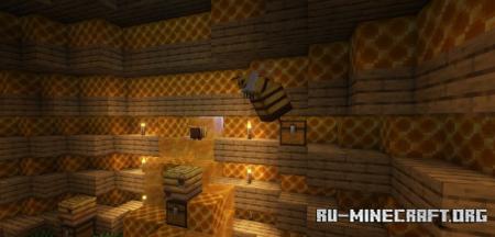 Скачать Queen Bee для Minecraft 1.16.5