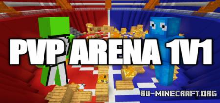 Скачать PVP Arena 1v1 by JetCraft для Minecraft PE