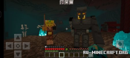 Скачать World of Piglins для Minecraft PE 1.17