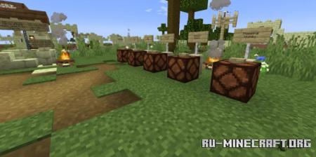 Скачать Camp Nehemiah (Multi-player game map) для Minecraft