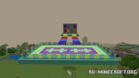 Скачать Lucky Colour PvP для Minecraft PE