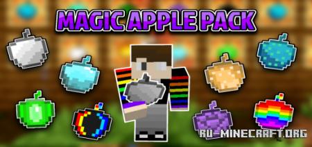 Скачать Magic Apple Pack для Minecraft PE 1.17