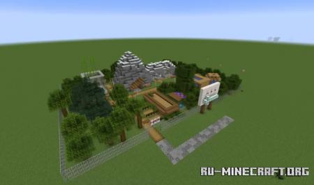 Скачать Minecraft Zoo by DopeyAnt256 для Minecraft