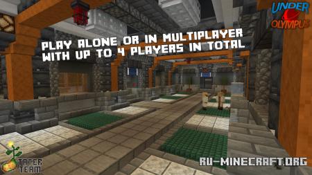 Скачать Under Olympus для Minecraft