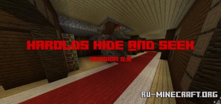 Скачать Harold's Woodland Mansion Hide And Seek для Minecraft PE