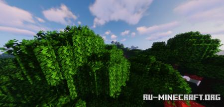 Скачать LOTR Better Leaves для Minecraft 1.17