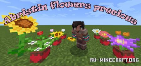 Скачать Abristin - Flowers More Precious для Minecraft PE 1.17