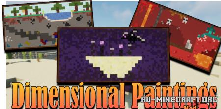 Скачать Dimensional Painting для Minecraft 1.17.1