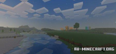 Скачать HSBE 3.6 Sun Reflection для Minecraft PE 1.17