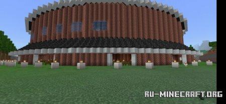 Скачать Round Mansion для Minecraft PE