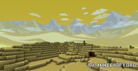 Скачать Terrapack3D для Minecraft 1.17