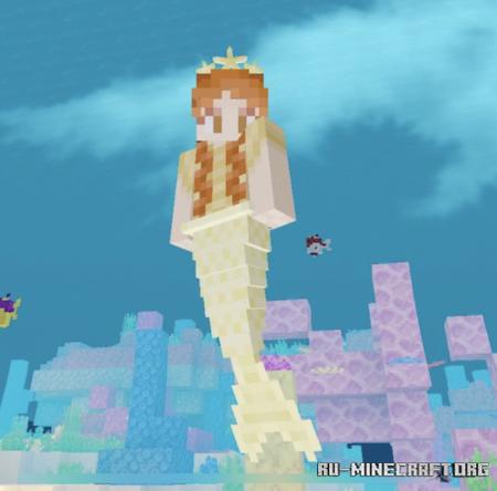 Скачать Mermaid Craft для Minecraft PE 1.17