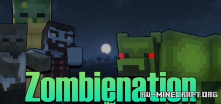 Скачать Zombienation для Minecraft 1.16.5