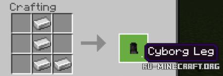 Скачать Cyborg Bodyguard для Minecraft PE 1.17