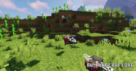 Скачать Alexs Mob для Minecraft 1.17.1