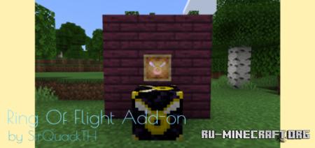 Скачать Ring Of Flight (Angel Ring) для Minecraft PE 1.17
