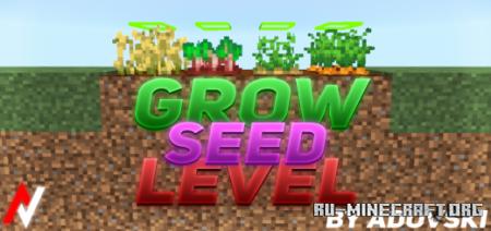 Скачать Grow Seed Level для Minecraft PE 1.17
