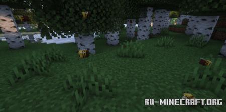 Скачать Realistic Bees для Minecraft 1.17.1