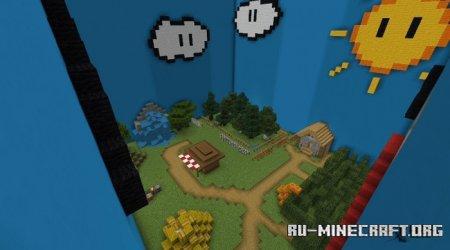 Скачать 3/4 Players Hide And Seek для Minecraft PE