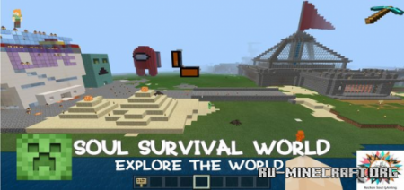Скачать Soul Survival World для Minecraft PE